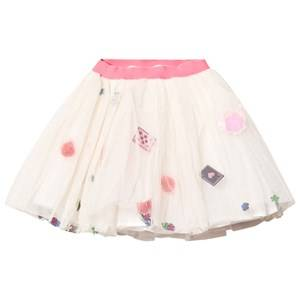 Billieblush Girls Skirts White Tea Party Glitter Tutu