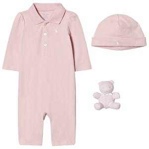 Ralph Lauren Girls Clothing sets Pink Pink Polo Body Gift Set