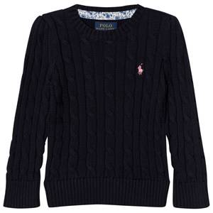 Ralph Lauren Girls Jumpers and knitwear Navy Navy Cable Knit Sweater