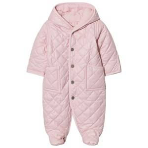 Ralph Lauren Girls All in ones Pink Pink Quilted Coverall
