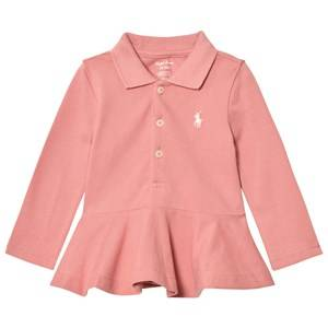 Ralph Lauren Girls Tops Pink Pink Polo Peplum Top