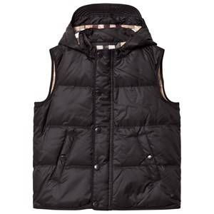 Burberry Boys Coats and jackets Black Black Down Hooded Gilet