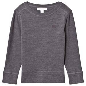 Burberry Boys Jumpers and knitwear Grey Grey Merino Knit Sweater