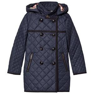 Burberry Girls Coats and jackets Navy Navy Long Line Quilted Coat