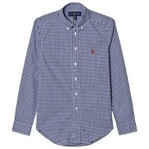 Ralph Lauren Boys Tops Multi Gingham Poplin Shirt
