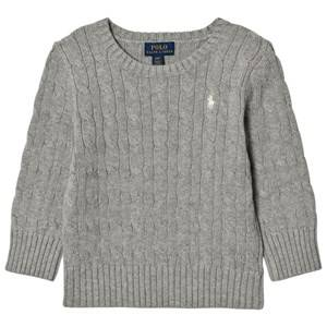 Ralph Lauren Boys Jumpers and knitwear Grey Cable Knit Sweater