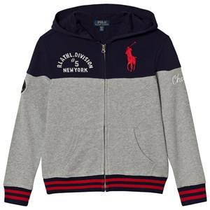 Ralph Lauren Boys Jumpers and knitwear Navy Contrast Terry Hoody