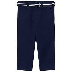 Ralph Lauren Boys Bottoms Navy Navy Cotton Chinos