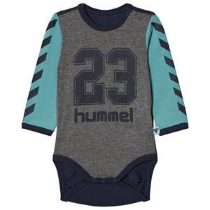 hummelkids Boys All in ones Black Kevan Long Sleeve Body