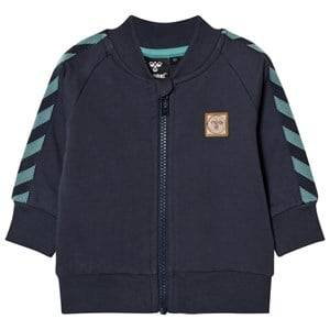 hummelkids Unisex Coats and jackets Blue Ray Zip Sweater Night Blue