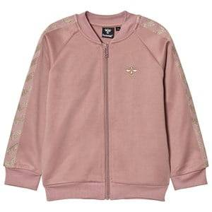 hummelkids Girls Coats and jackets Pink Olga Zip Sweater Wood Rose Gold