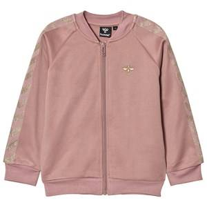 Hummel Girls Coats and jackets Pink Olga Zip Sweater Wood Rose Gold