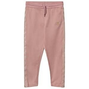 hummelkids Girls Bottoms Pink Olga Sweatpants Wood Rose Gold