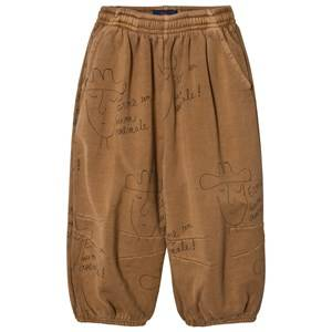 The Animals Observatory Unisex Bottoms Beige Dromedary Pants Brown Hats