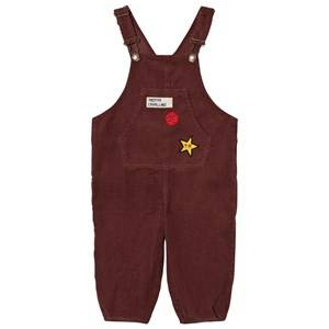The Animals Observatory Unisex All in ones Red Mechanic Overalls Red Garnet