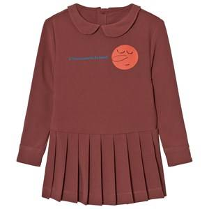 The Animals Observatory Girls Dresses Red Canary Dress Red Garnet Face