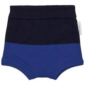 Tinycottons Unisex Underwear Blue Color Block Baby Bloomer Dark Navy/Blue