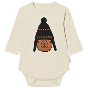 Tinycottons Unisex All in ones Beige Llama With Beannie Body Beige/Brown/ Black