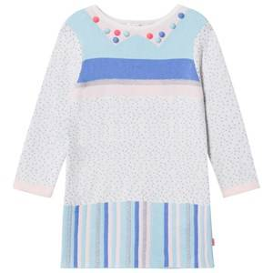 Billieblush Girls Dresses Multi Multi Patterned Knit Pom Pom Dress