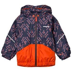 Patagonia Unisex Coats and jackets Red Baby Snow Pile Jacket Riverbird Paintbrush Red