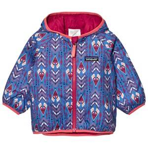 Patagonia Unisex Coats and jackets Blue Baby Reversible Puff-Ball Jacket Tipikat Oasis Blue