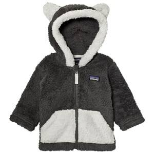 Patagonia Unisex Fleeces Black Baby Furry Friends Hoodie Sweater Forge Grey