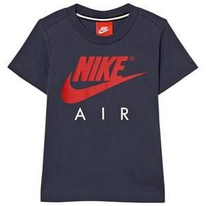 NIKE Boys Tops Navy Thunder Blue Nike Air Tee