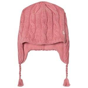 Ralph Lauren Girls Headwear Pink Pink Earflap Hat
