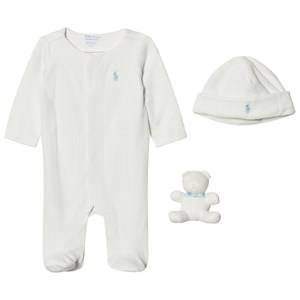 Ralph Lauren Boys Clothing sets Cream Cream Footed Baby Body Gift Set