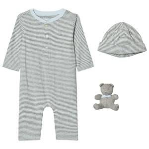 Ralph Lauren Boys Clothing sets Blue Meryl Blue One-Piece Gift Set
