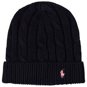 Ralph Lauren Girls Headwear Navy Navy Slouchy Hat