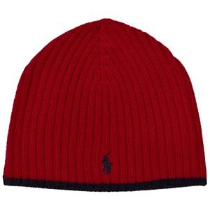 Ralph Lauren Boys Headwear Red Red Merino Beanie