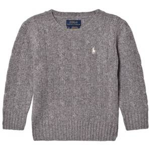 Ralph Lauren Boys Jumpers and knitwear Grey Grey Wool Knit Sweater