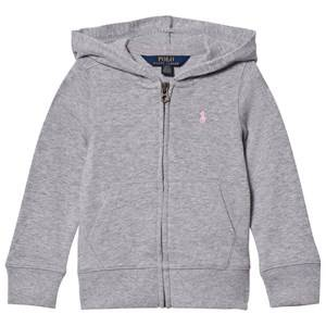 Ralph Lauren Girls Jumpers and knitwear Grey Gray Terry Hoodie