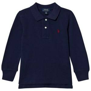 Ralph Lauren Boys Jumpers and knitwear Navy Basic Long Sleeve Polo Navy