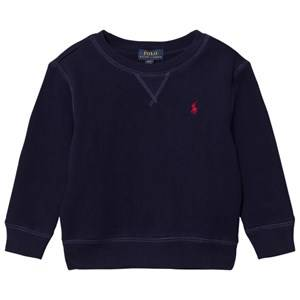 Ralph Lauren Boys Fleeces Navy Navy Crew Neck Sweatshirt