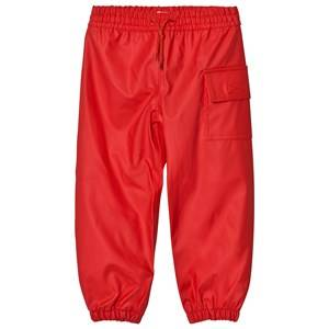 Hatley Unisex Bottoms Red Red Waterproof Trousers