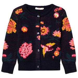 Billieblush Girls Jumpers and knitwear Navy Navy Floral Cardigan