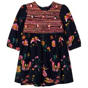 Billieblush Girls Dresses Navy Navy Floral Print Dress