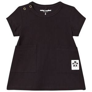 Mini Rodini Girls Dresses Black Basic Dress Black