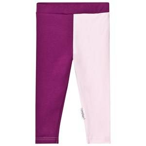Gugguu Girls Bottoms Purple Leggings Grape Juice/Fragrant Lilac