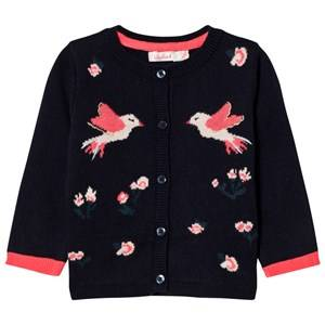 Billieblush Girls Jumpers and knitwear Navy Navy Bird Cardigan