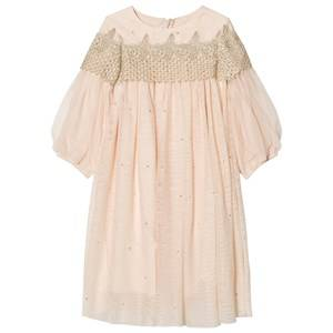 Billieblush Girls Dresses Pink Pink Embellished Tulle Dress