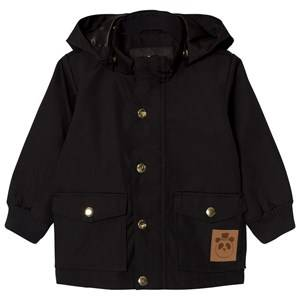 Mini Rodini Unisex Coats and jackets Black Pico Jacket Black