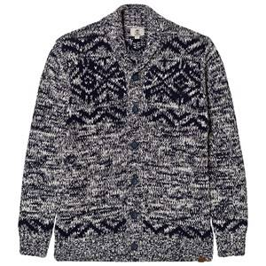 Timberland Boys Jumpers and knitwear Grey Navy Shawl Neck Cardigan