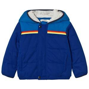 Billybandit Boys Coats and jackets Blue Blue Colorblock Hooded Puffer Coat