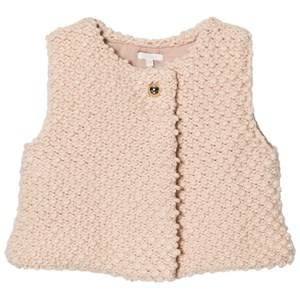 Chloé Girls Coats and jackets Pink Pink Textured Knitted Vest