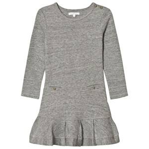 Chloé Girls Dresses Blue Grey Jersey Long Sleeve Dress