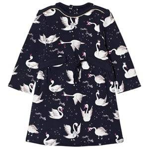 Little Marc Jacobs Girls Dresses Navy Navy Milano Dress