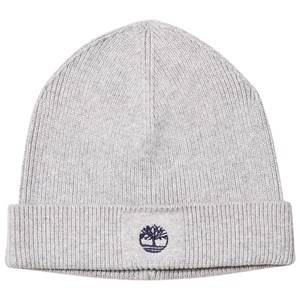 Timberland Boys Headwear Grey Grey Knit Branded Beanie